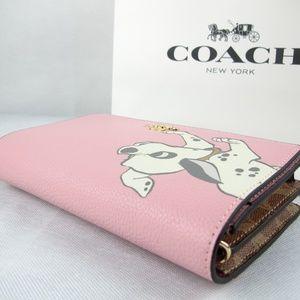 Coach Bags - DISNEY X COACH CALLIE CHAIN CLUTCH WITH DALMATIAN